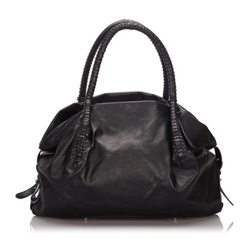 Salvatore Ferragamo Leather Tote Bag