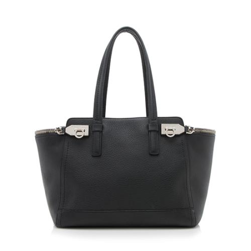 1b76a2d5a3ac Salvatore-Ferragamo-Leather-Verve-Medium-Tote- 95003 front large 0.jpg