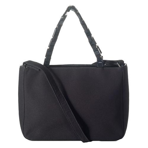 Salvatore Ferragamo Link Strap Shoulder Handbag