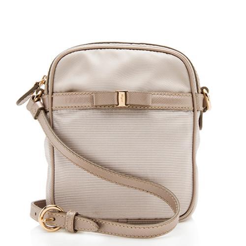 Salvatore Ferragamo Nylon Grosgrain Crossbody Bag - FINAL SALE