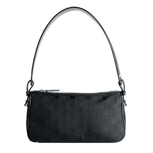 Salvatore Ferragamo Satin Small Evening Handbag