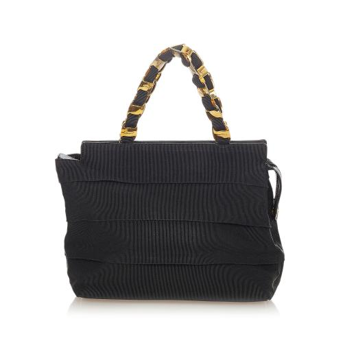 Salvatore Ferragamo Tiered Grosgrain Handbag
