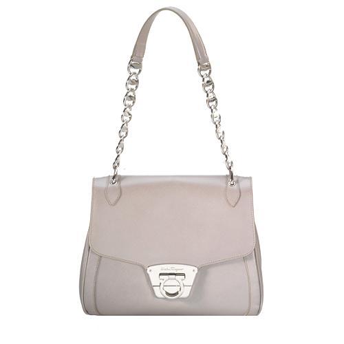 Salvatore Ferragamo Venere Chain Shoulder Handbag
