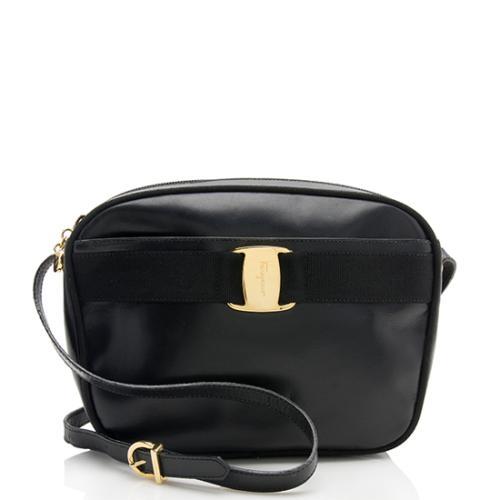 Salvatore Ferragamo Vintage Leather Vara Shoulder Bag