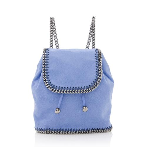 Stella McCartney Shaggy Deer Falabella Mini Backpack