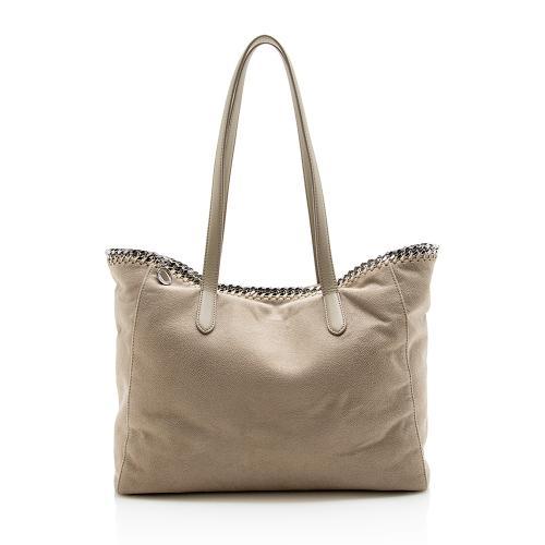 Stella McCartney Faux Leather Falabella E/W Shopping Tote