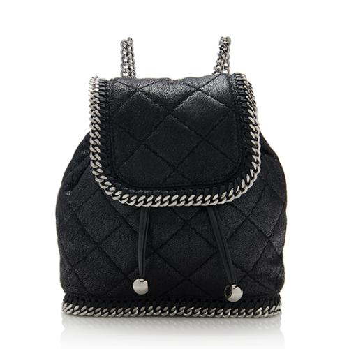 Stella McCartney Quilted Falabella Mini Backpack