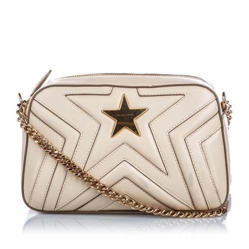 Stella McCartney Quilted Star Crossbody Bag