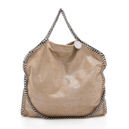 Stella McCartney Shaggy Deer Falabella Fold Over Tote 814696d96170