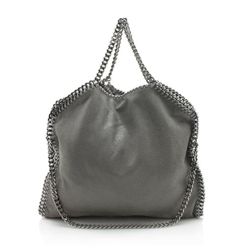 Stella McCartney Shaggy Deer Falabella Fold Over Tote