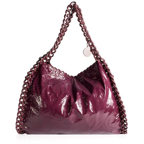 Stella McCartney Soft Patent East West Hopping Tote