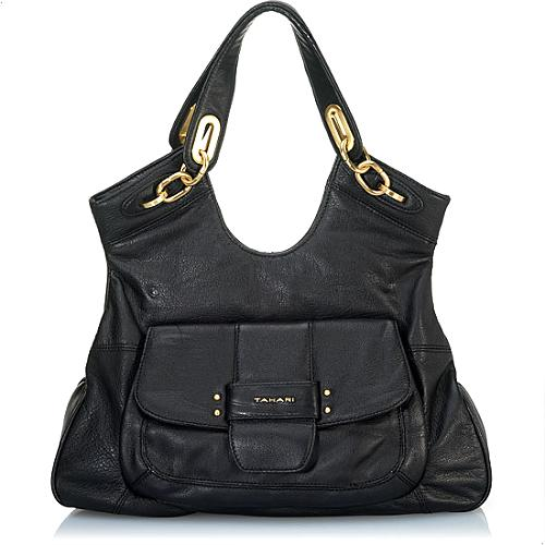 Tahari Swing Convertible Satchel Handbag