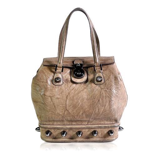 Thomas Wylde Studded Satchel Handbag