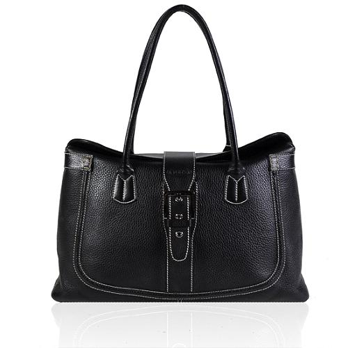 Tods Classic Extra Large Pebbled Leather Tote