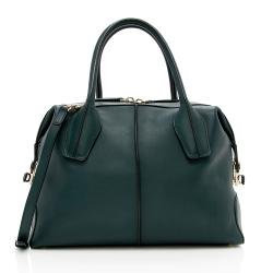 Tod's Leather D-Styling Bauletto Small Satchel