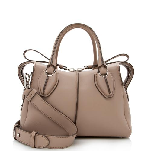 Tod's Leather D-Styling Mini Tote