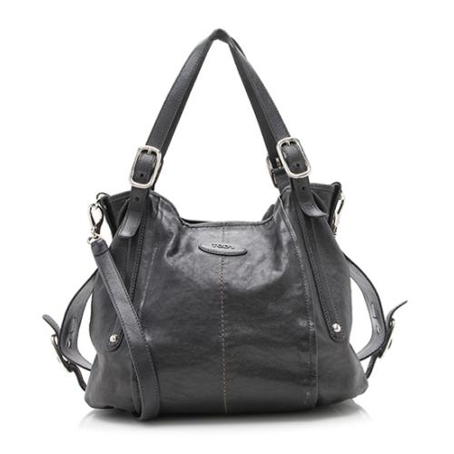 Tod's Leather G-Bag Sacca Grande Tote