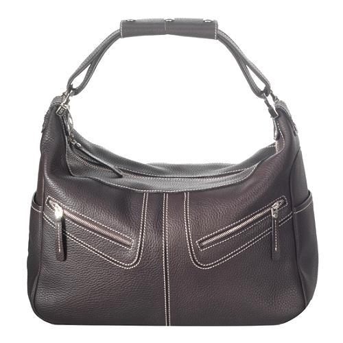 Tods Leather Micky Shoulder Handbag