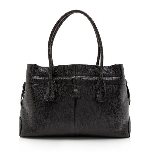 Tod's Leather New D Bag Media Tote