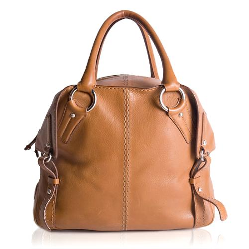 Tods Leather Tote Handbag