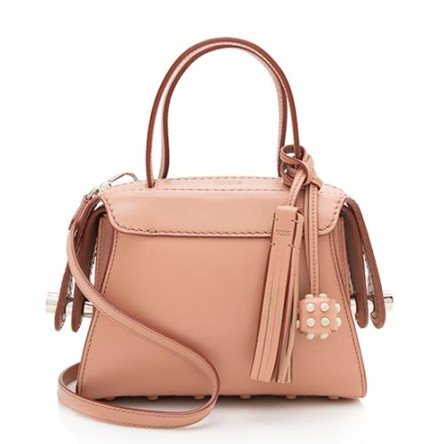 Tod's Leather Twist Small Satchel