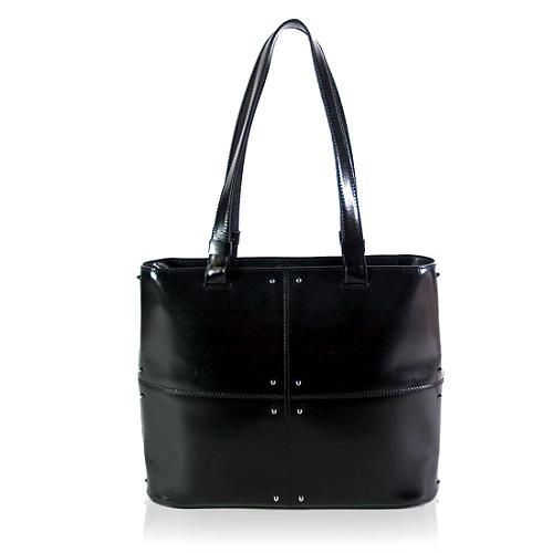 Tods Patchwork Studded Tote