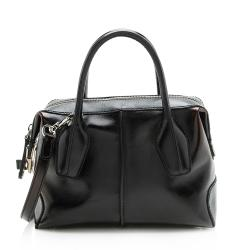 Tod's Patent Leather D-Styling Mini Satchel