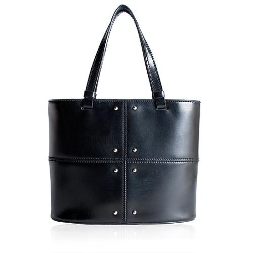 Tods Small Patchwork Studded Tote