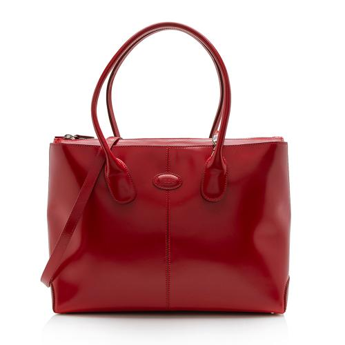 Tod's Smooth Leather D-Styling Tote