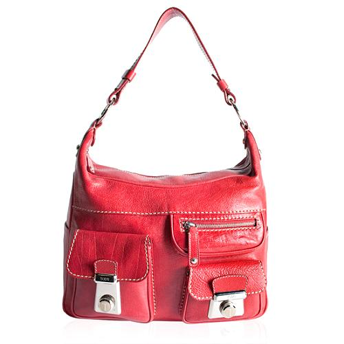 ba136ea07f Tod's Tracolla Media Shoulder Handbag