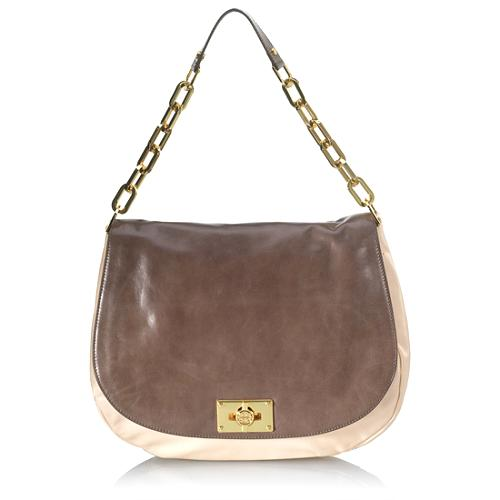 Tory Burch Brady Flap Hobo Handbag