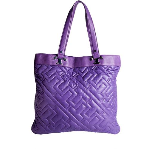 Tory Burch Cire Hailey Quilted Nylon Tote