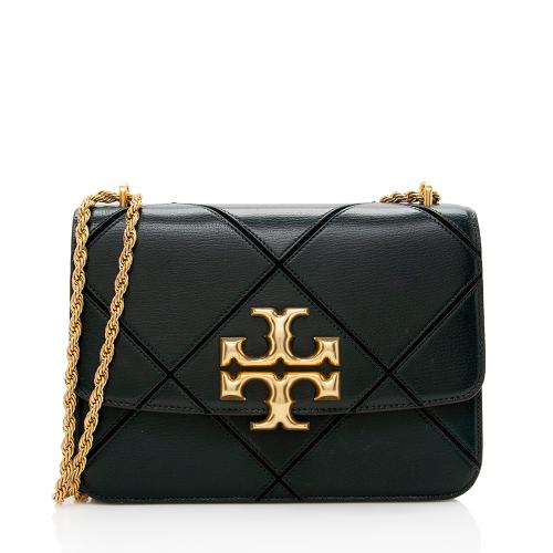 Tory Burch Diamond Quilted Leather Eleanor Convertible Shoulder Bag