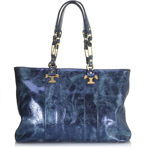 Tory Burch Distressed Nico East/West Tote