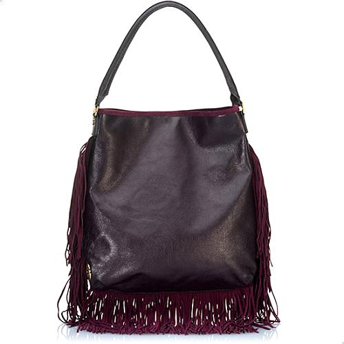 Tory Burch Fringe Hobo Handbag