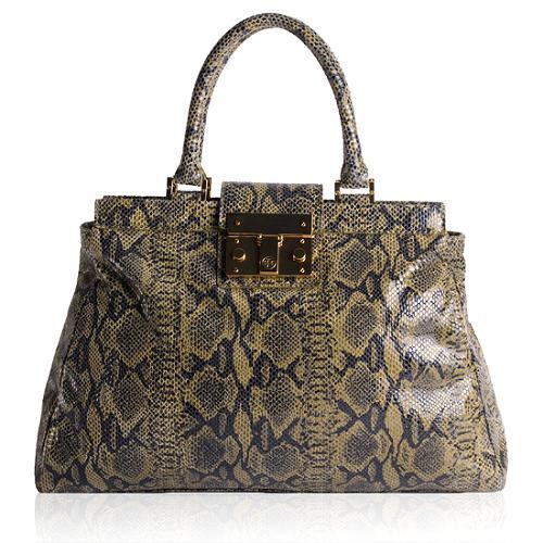 Tory Burch Holland Satchel Handbag