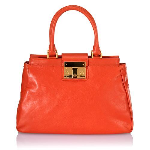 Tory Burch Large Norah Satchel Handbag