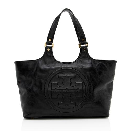 Tory Burch Leather Bombe Tote