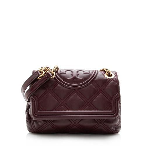 Tory Burch Leather Fleming Soft Convertible Shoulder Bag