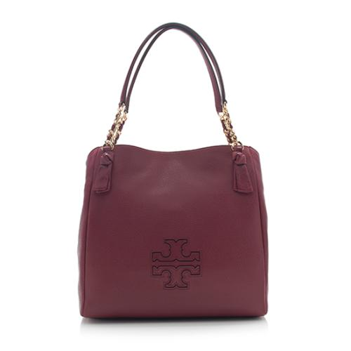 Tory Burch Leather Harper Center-Zip Tote