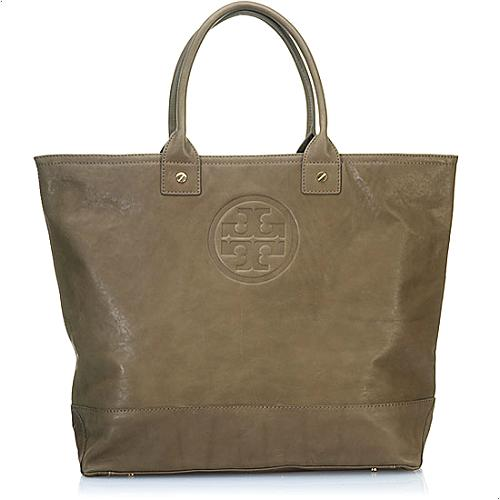 Tory Burch Leather Julie Oversized Tote