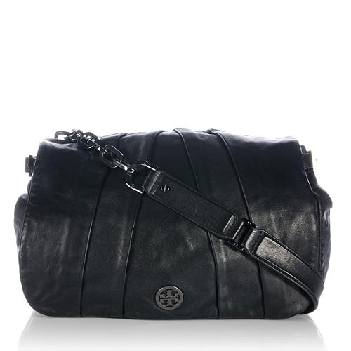 Tory Burch Leather Kiliaen Messenger Bag - FINAL SALE