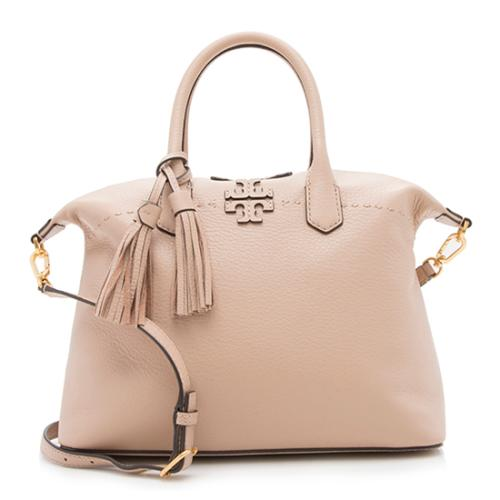 Tory Burch Leather McGraw Slouchy Satchel