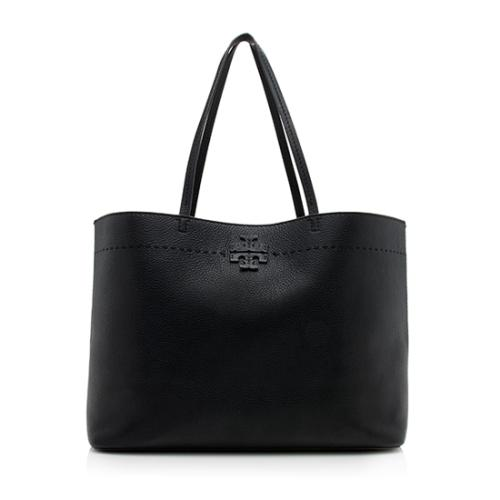 Tory Burch Leather McGraw Tote - FINAL SALE