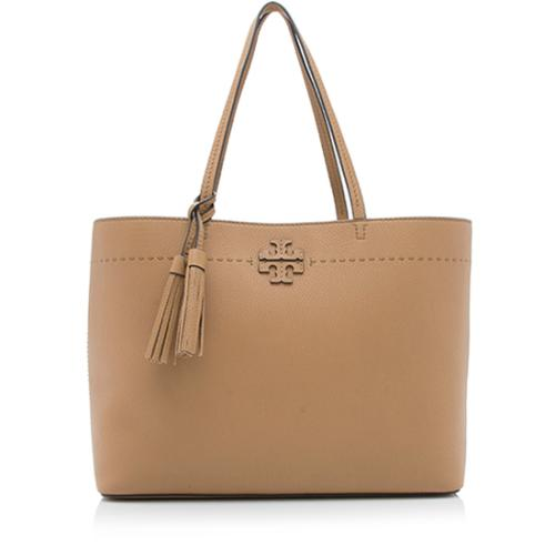 Tory Burch Leather McGraw Tote