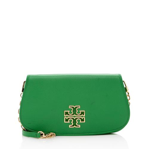 Tory Burch Leather Miller Convertible Crossobdy Bag