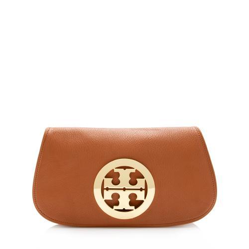 Tory Burch Leather Pryce Logo Clutch