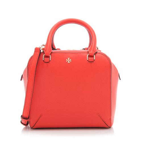 Tory Burch Leather Robinson Mini Satchel