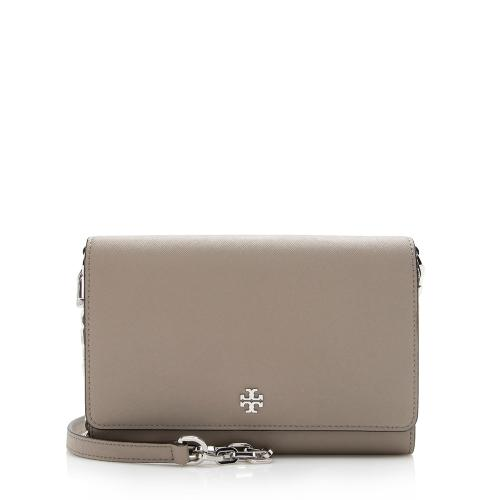 Tory Burch Leather Robinson Wallet on Chain Bag