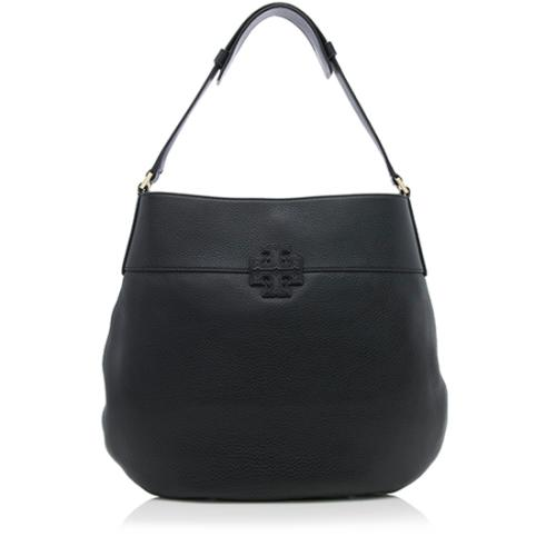 Tory Burch Leather Stacked T Hobo